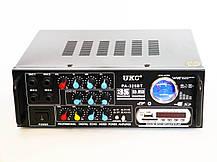 Усилитель звука UKC AV-325BT USB+SD+AUX+Bluetooth+Караоке, фото 2