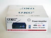 Усилитель звука UKC AV-325BT USB+SD+AUX+Bluetooth+Караоке, фото 3