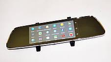 "DVR 702 Зеркало регистратор, 7"" сенсор, 2 камеры, GPS навигатор, WiFi, 8Gb, Android, 3G, фото 3"