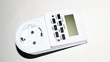 Programmer timer digital Розетка таймер, недельный программатор, фото 2