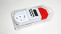 Programmer timer digital Розетка таймер, недельный программатор, фото 3