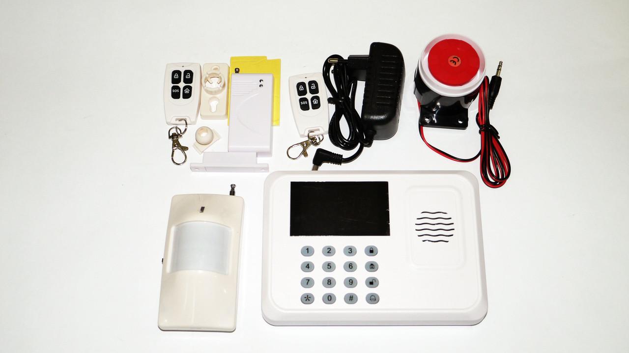 GSM Сигнализация для дома JYX G1 с датчиком движения