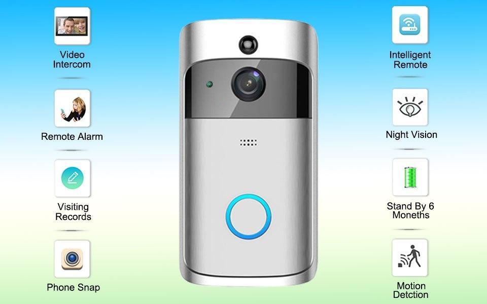 Домофон SMART DOORBELL wifi CAD M6