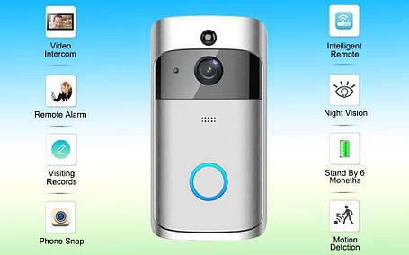 Домофон SMART DOORBELL wifi CAD M6, фото 2