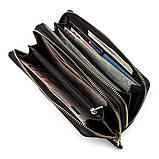 Кошелек женский ST Leather 18448 (S5001A) кожаный Черный, фото 4