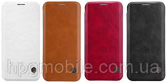 Чехол для Samsung Galaxy S9 G960 (2018) - Nillkin Qin leather case, книжка, PU кожа