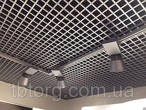 Потолки подвесные  Грильято 100х100, фото 2