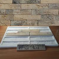 Силиконовая форма для плитки Оксфорд на 10 камней