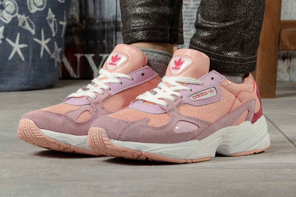 Кроссовки женские Adidas Falcon, розовые / кросівки жіночі Адидас Фалкон (Топ реплика ААА+)