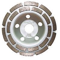 """Алмазный круг шлифовальный, чашка, 125x7x22.23, Standard, """"NovoTools"""""""