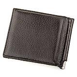 Зажим для денег KARYA 17232 кожаный Черный, фото 2