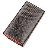 Кошелек женский KARYA 17260 кожаный Черный, фото 2