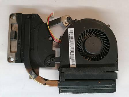 Б/У радиатор ( система охлаждения ) + кулер для ноутбука Lenovo G500 G505 G510 (AT0Y0004FF0), фото 2