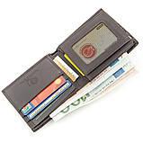 Бумажник мужской STINGRAY LEATHER 18566 из натуральной кожи морского ската Коричневый, фото 5