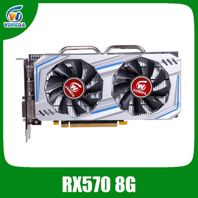 Видеокарта AMD RX 570 8Gb .