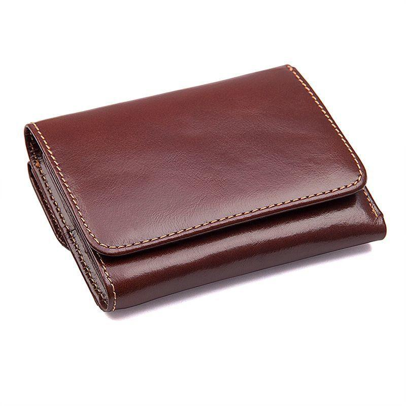 Гаманець чоловічий шкіряний Vintage 14648 коричневий
