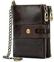 Кошелек универсальный Vintage 14682 Темно-коричневый, фото 1