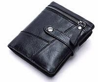 Кошелек мужской Vintage 14685 черный, фото 1