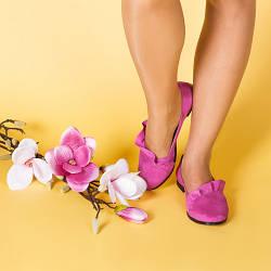 Женские замшевые легкие туфли. Цвет любой под заказ