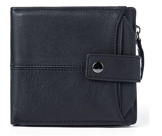 Гаманець чоловічий функціональний Vintage 14688 чорний
