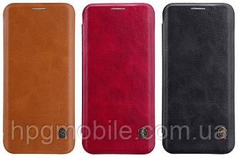 Чехол для Samsung Galaxy S9 Plus G965 (2018) - Nillkin Qin leather case, книжка, PU кожа