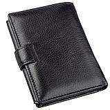 Чудовий гаманець для чоловіків ST Leather 18833 чорний, фото 2