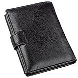 Великолепный кошелек для мужчин ST Leather 18833 Черный, фото 2