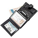 Чудовий гаманець для чоловіків ST Leather 18833 чорний, фото 4