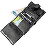 Чудовий гаманець для чоловіків ST Leather 18833 чорний, фото 5
