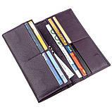 Жіночий гаманець з натуральної шкіри ST Leather 18872 Фіолетовий, фото 4
