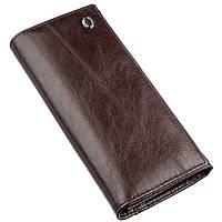 Вместительный кошелек для женщин ST Leather 18894 Коричневый, фото 1