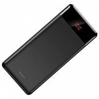 УМБ PowerBank BASEUS Mini Cu с дисплеем на 2 USB 10000mAh M35 Черный