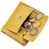 Невелика портмоне для жінок ST Leather 18924 Гірчичний, фото 6