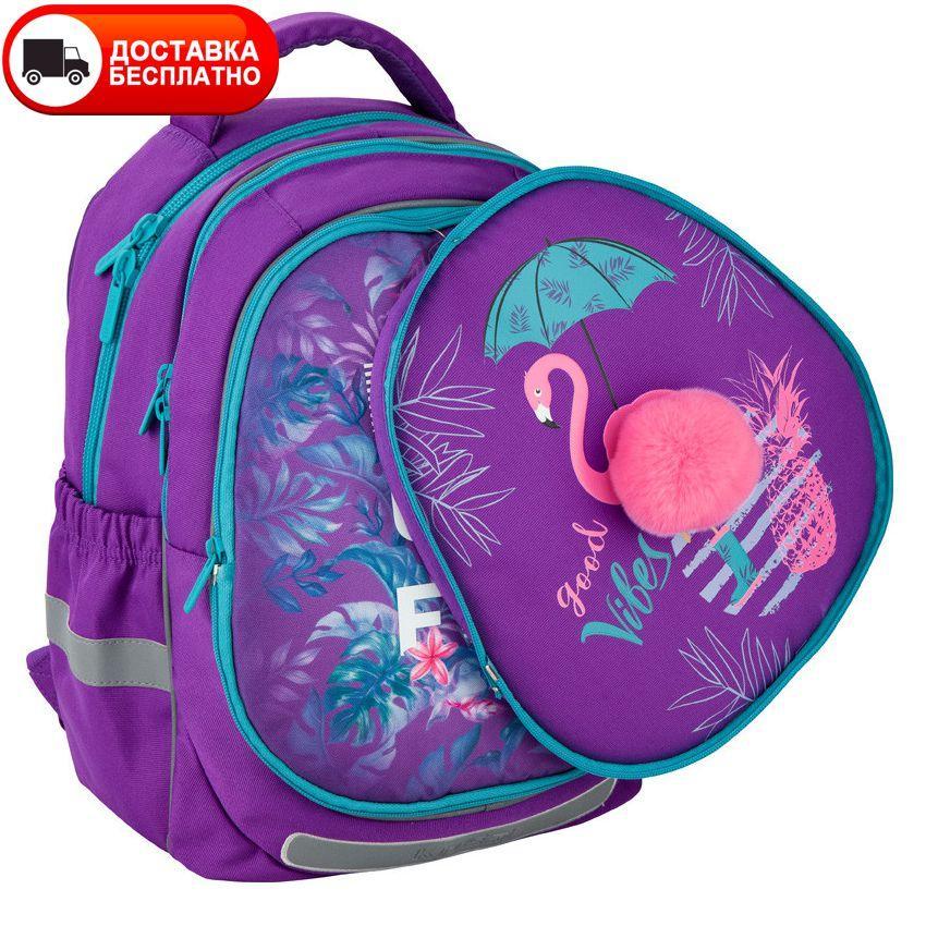 Рюкзак Kite K20-700M(2p)-1 Beautiful tropics со сменной панелью
