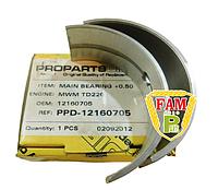 Вкладыш коренной MWM TD226 +0.50 (12160705), фото 1