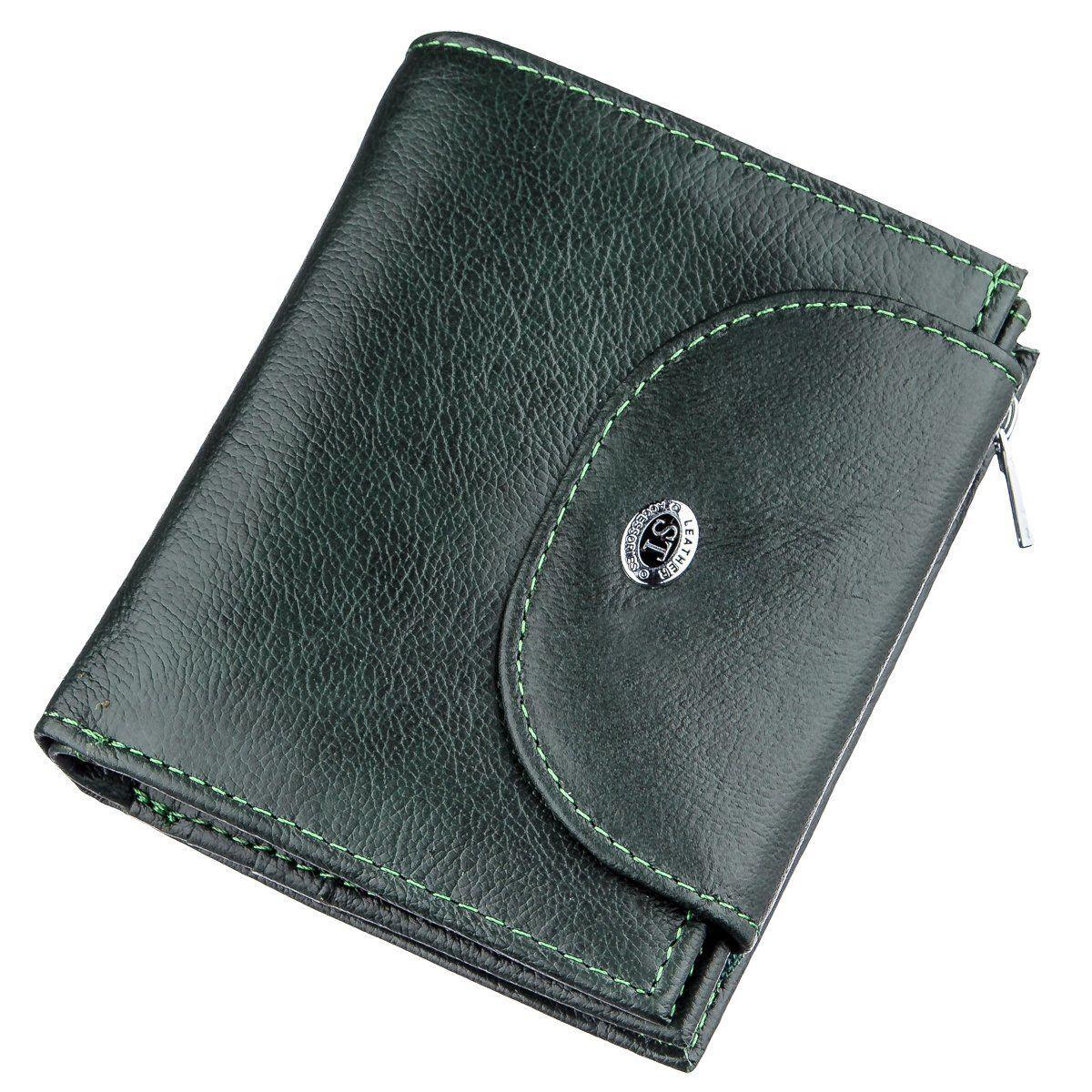 Гаманець жіночий шкіряний ST Leather 18958 Зелений