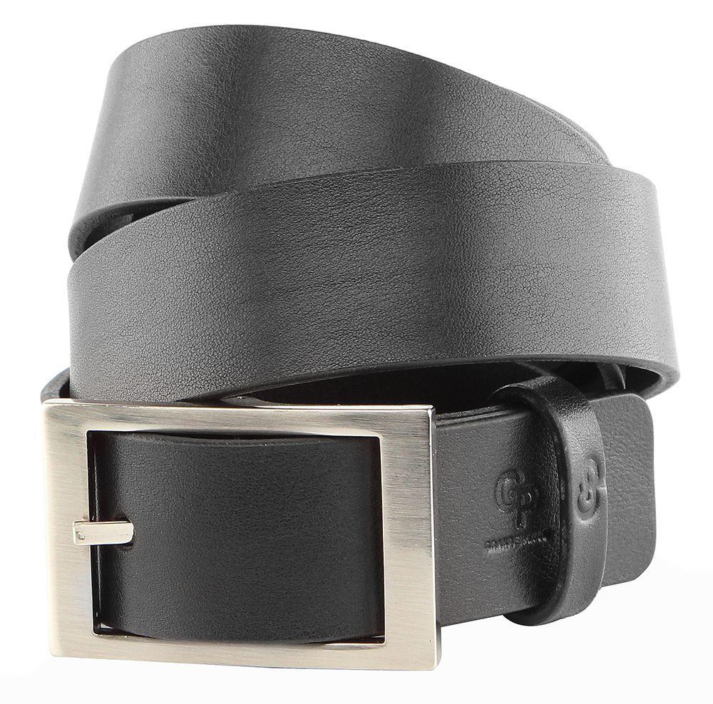 Ремень GRANDE PELLE 00239 кожаный Черный