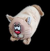 Валик подушка для детей антистрессовая, полистерольные шарики, размер 20*35 см