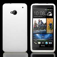 Чехол силиконовый Epik для HTC One M7 801e White
