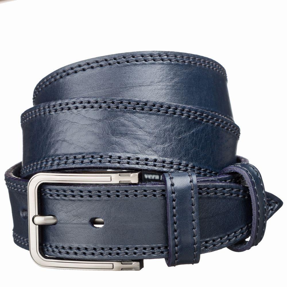Ремінь джинсовий MAYBIK 15257 Синій