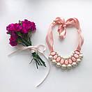 КОЛЬЕ ALBINA розовое, фото 2