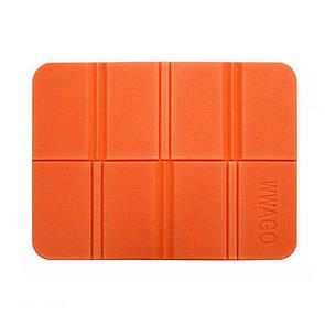 Складной коврик сидушка XPEпенка. Оранжевый.