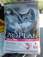 Delicate Сухой корм для кошек с чувствительной кожей с индейкой 10кг