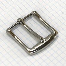 Пряжка ременная 30 мм никель a3539