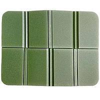 Складной коврик сидушка XPE пенка. Зеленый.