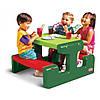 Пикниковый столик зеленый Little Tikes 479A