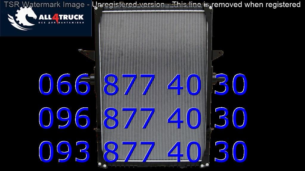Радиатор охлаждения с рамкой RVI MAGNUM 5001848520
