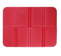 Складной коврик сидушка XPE пенка. Красный.
