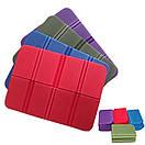 Складной коврик сидушка XPE пенка. Фиолетовый., фото 2