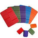 Складной коврик сидушка XPE пенка. Фиолетовый., фото 6